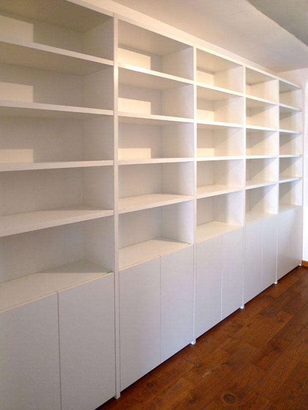 Demaderas almer a instalaciones para su hogar puertas for Librerias salon baratas