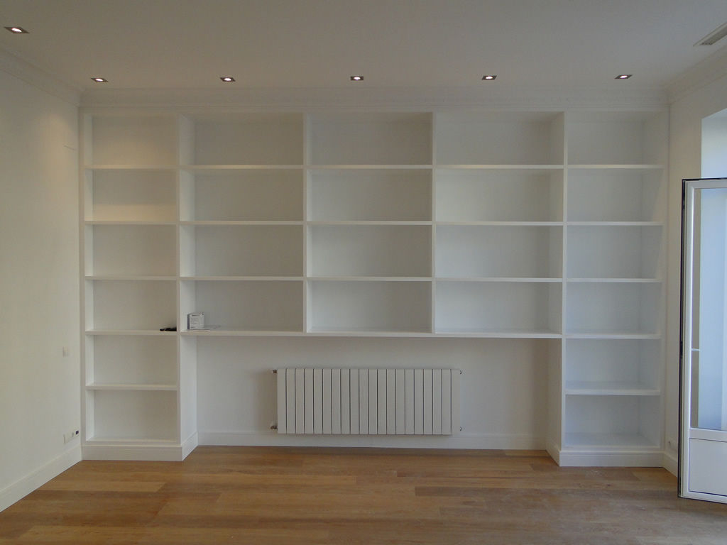 Demaderas almer a instalaciones para su hogar puertas armarios suelos laminados estanter as - Armario estanteria ...