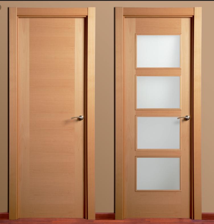 Demaderas almer a instalaciones para su hogar puertas for Puertas de paso modernas