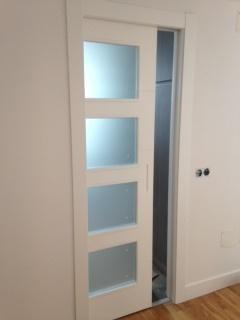 idea de puerta corredera v4 lacado - Puertas Correderas Blancas