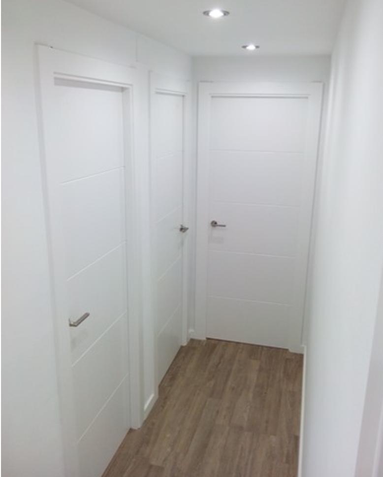 Decoracion con puertas blancas decoracion puertas blancas for Puertas macizas blancas
