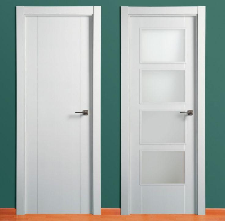 Demaderas almer a instalaciones para su hogar puertas - Puertas blancas con rayas ...